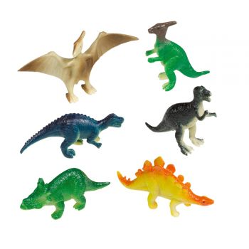 8 Figurines Dinosaure party