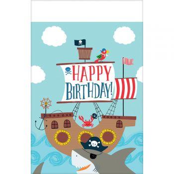 Nappe en plastique Pirate Ahoy
