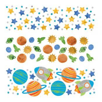 Confettis Planète