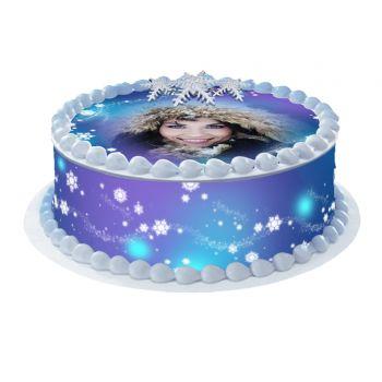 Kit Easycake pour gâteau personnalisé Neige
