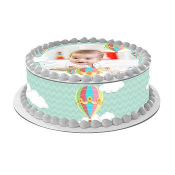 Kit Easycake pour gâteau personnalisé Montgolfière