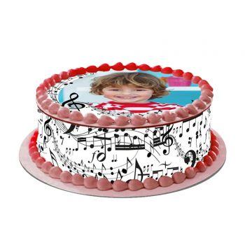 Kit Easycake pour gâteau personnalisé Musique