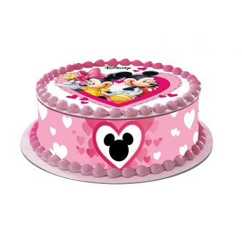 Kit Easycake Mickey Minnie Love
