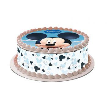 Kit Easycake Mickey blanc