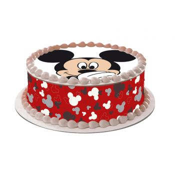 Kit Easycake Mickey rouge