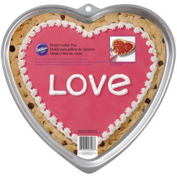 Moule à cookie coeur géant Wilton