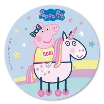 Disque azyme Peppa Pig cool 20 cm