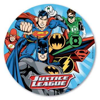 Disque azyme Justice League 20 cm