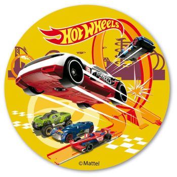 Disque azyme Hot Wheels 20 cm