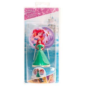 Kit deco de gâteau Princesse Ariel