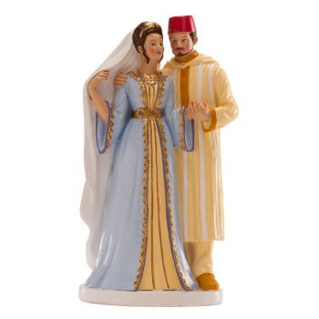 Figurine mariés oriental