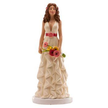 Figurine mariée marguerite