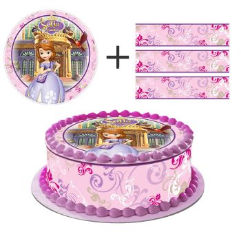 Kit Easycake Princesse Sofia rose