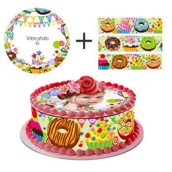 Kit Easycake sucreries à personnaliser