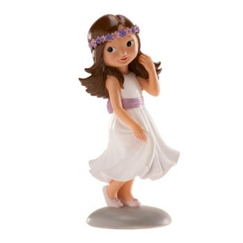Figurine communiante fille Irène