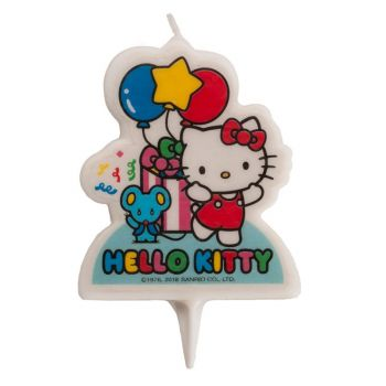 Bougie 2D Hello Kitty