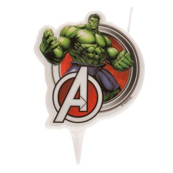 Bougie 2D Hulk pour gateau