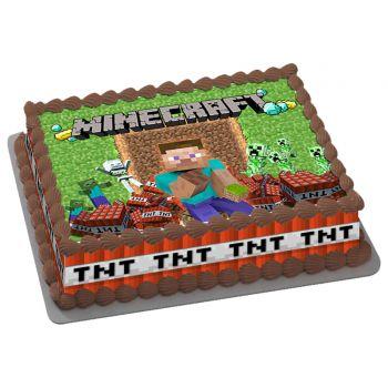 Kit Easycake Minecraft A4