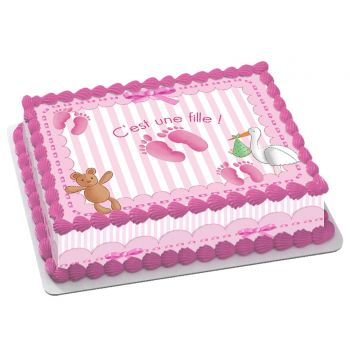 Kit Easycake Baby rose A4