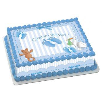 Kit Easycake Baby bleu A4