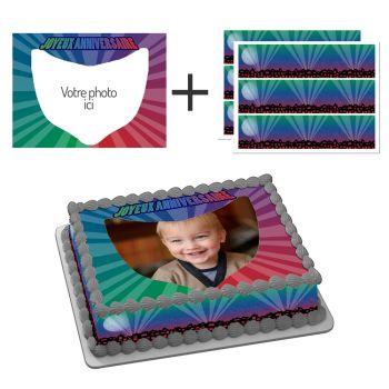 Kit Easycake Heromasques à personnaliser A4