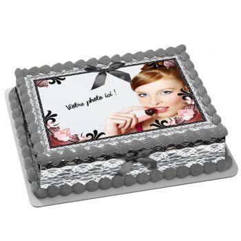 Kit Easycake Blackcupcake à personnaliser A4