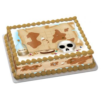 Kit Easycake Carte pirate A4