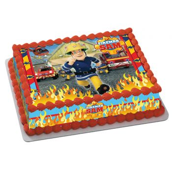 Kit Easycake Sam le pompiers A4