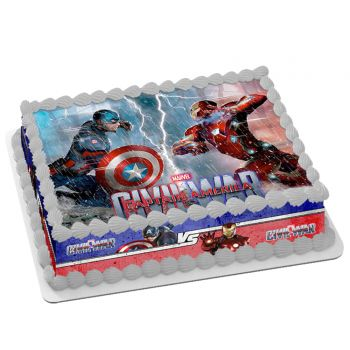 Kit Easycake Capitaine America Civil War A4