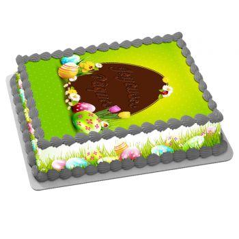 Kit Easycake Pâques Chasse aux oeufs A4