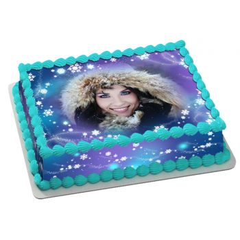 Kit Easycake neige à personnaliser A4