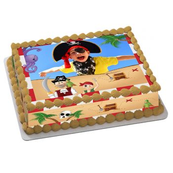 Kit Easycake pirate à personnaliser A4