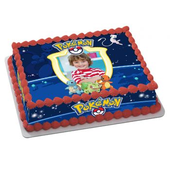 Kit Easycake pokemon à personnaliser A4