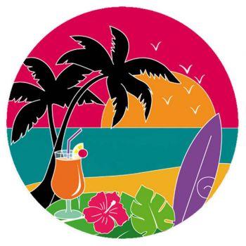Disque sucre Hawaï