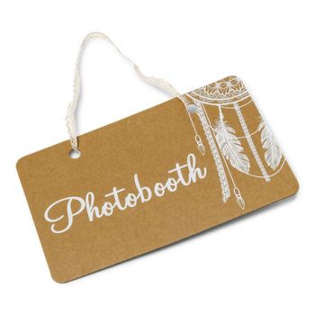Panneau Photobooth Boho