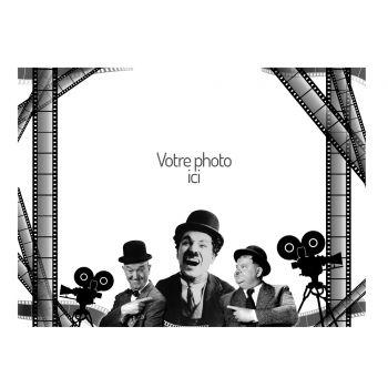 Décor sur sucre A4 décor Cinema 1930 à personnaliser