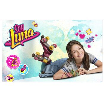Photo comestible Soy Luna A3