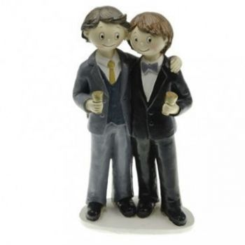 Figurine Mariage Gay homme