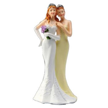 Figurine couple femmes