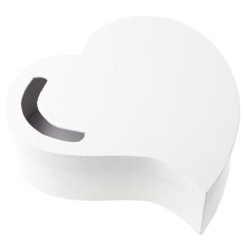 Urne Coeur blanc