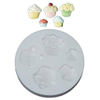Moule à modelage Cupcakes