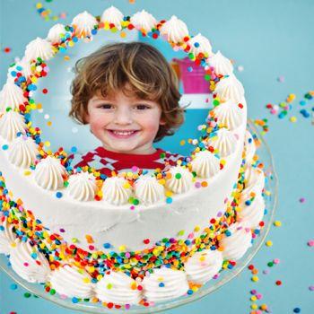 Disque sucre pour gâteau personnalisé