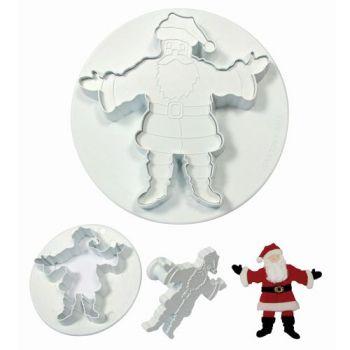 Emporte pièce empreinte Père Noël
