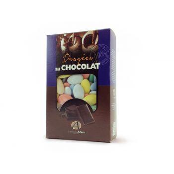 Dragées chocolat pastel mat multicolore 500gr
