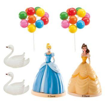 Kit décor gâteau Princesses Disney