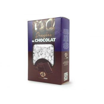 Dragées mini coeur chocolat brillant blanc 500gr
