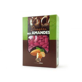 Dragées amandes Alsace framboise 1KG