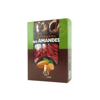 Dragées amandes Alsace rouge 1KG