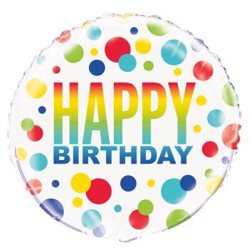 Ballon hellium Birthday spot
