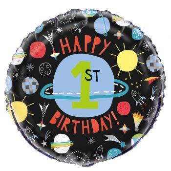 Ballon hélium Espace 1 an